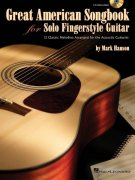 Great American Songbook for Solo Fingerstyle Guitar + CD / kytara + tabulatura