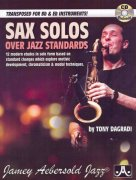 SAX SOLOS over Jazz Standards + CD //  Bb / Eb instruments