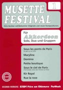 MUSETTE FESTIVAL 1 for Accordion - solo, duo or ensemble / akordeon
