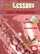 FIRST LESSONS - ALTO SAXOPHONE + CD / altový saxofon