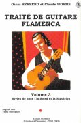 TRAITE DE GUITARE FLAMENCA 3 + CD / kytara + tabulatura