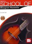 School Of Mandolin Bluegrass Mandolin + Audio Online / mandolína + tabulatura