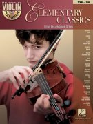 VIOLIN PLAY-ALONG 26  -  ELEMENTARY CLASSICS + CD