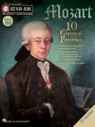 Jazz Play Along 159 - MOZART (10 Classical Favorites) + CD