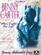 AEBERSOLD PLAY ALONG 87 - BENNY CARTER - When Lights are Low + CD