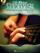 12-Bar Fingerstyle Blues + CD / kytara + tabulatura