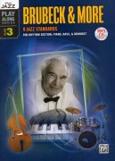 Alfred Jazz Play Along 3 -  Brubeck & More (9 jazz standards) + CD / doprovod - party rytmické sekce (piano/bass/drums)
