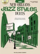 JAZZ STYLES - NEW ORLEANS - PIANO DUETS - MORE (green) + CD / 1 piano 4 hands
