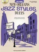 JAZZ STYLES - NEW ORLEANS - PIANO DUETS - STILL MORE (purple) + CD / 1 piano 4 hands