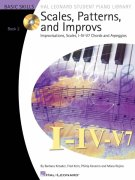SCALES, PATTERNS AND IMPROVS 2 + Audio Online / piano