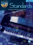Beginning Piano Solo 9 - STANDARDS + CD / klavír