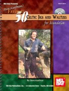 50 Celtic Jigs and Waltzes for Mandolin + Audio Online / mandolína + tabulatura