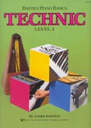 Bastien Piano Basics - TECHNIC - Level 3