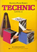 Bastien Piano Basics - TECHNIC - Level 4
