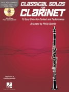 CLASSICAL SOLOS for CLARINET + CD / klarinet + klavír