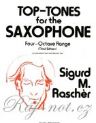 Top-Tones For The Saxophone - Four-Octave Range
