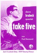 TAKE FIVE by Paul Desmond for Alto Sax (Tenor Sax) + Piano