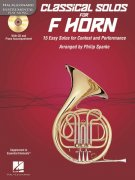CLASSICAL SOLOS for F HORN + CD / lesní roh + klavír