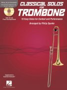 CLASSICAL SOLOS for TROMBONE + CD / trombon + klavír