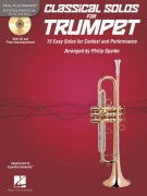 CLASSICAL SOLOS for TRUMPET + CD / trumpeta + klavír