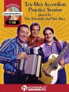 Tex-Mex Accordion Practice Session - CD (Learning Disc) / akordeon
