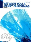 We Wish You A Merry Christmas (SATB/Piano)