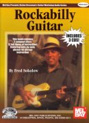 ROCKABILLY GUITAR by Fred Sokolow + 3x CD