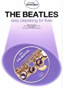 THE BEATLES easy arrangements + CD / flétna