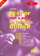 Best of Pop & Rock for Classical Guitar 4 / kytara + tabulatura