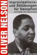 OLIVER NELSON: IMPROVISATIONS - PATTERNS FOR SAXOPHONE / alto a tenor saxofon