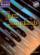 Jazz Standards pro klavír - The 16 Most Beautiful Jazz Songs
