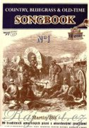 Country, Bluegrass & Old-Time Songbook - 1 + CD - Martin Žák