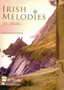 IRISH MELODIES for Violin + CD / housle