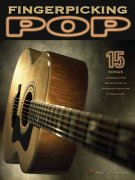 Fingerpicking POP - 15 songs arranged for solo guitar / kytara + tabulatura
