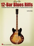 12-Bar Blues Riffs + Audio Online / kytara + tabulatura