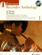 Baroque Recorder Anthology 1 + CD