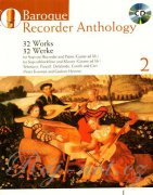 Baroque Recorder Anthology 2 + CD