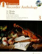 Baroque Recorder Anthology 3 + CD