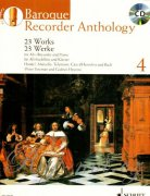 Baroque Recorder Anthology 4 + CD