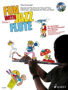 Fun With Jazz Flute Band 1 + CD - Mike Schoenmehl