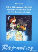 Around the World with four Hands - Fritz Emonts