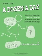 A Dozen a Day Technical Exercises Book 1 Edna Mae Burnam