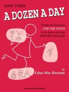 A DOZEN A DAY by Edna-Mae Burnam 3 - Transitional / klavír