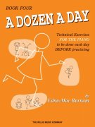 A DOZEN A DAY by Edna-Mae Burnam 4 -  Lower Higher / klavír