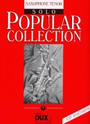 POPULAR COLLECTION 7 - solo book / tenorový saxofon
