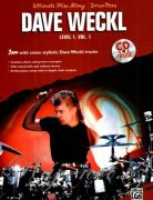 DAVE WECKL - Ultimate Play-Along, level 1, volume 1 + CD