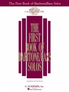 The First Book of Baritone / Bass Solos + 2x CD // vocal + piano