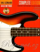HAL LEONARD ELECTRIC BASS METHOD 1, 2, 3 + 3 CD