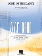 FLEX-BAND - LORD OF THE DANCE (grade 2-3)  -  score & parts
