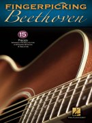 Fingerpicking BEETHOVEN - 15 songs arranged for solo guitar / kytara + tabulatura